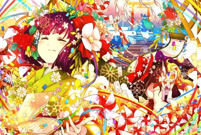 Akyuu, Marisa, Mima, & Reimu.jpg